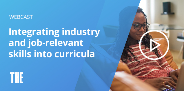 Integrating industry and job-relevant skills into curricula